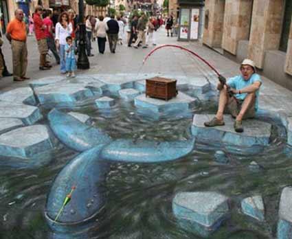 Pescaria em 3D