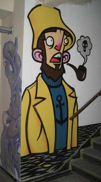 Graffiti Arte De Rua Desenhos Em Estilo 3d