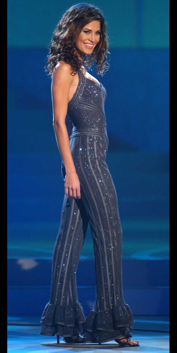 Miss Universo 2002 - Justine Pasek