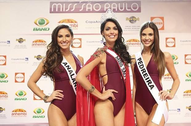 TOP 3 do Miss São Paulo 2014