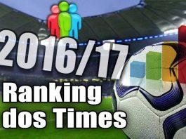 Ranking de times 2017