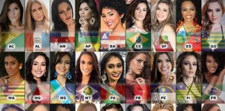 Todas as candidatas do Miss Brasil 2016