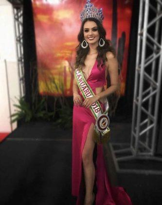 Miss Caruaru - Eslovênia Marques